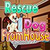 Rescate de perro desde casa juego