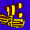 Sail in the sea coloring juego