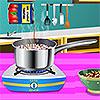 Espaguetis de langosta Cerdeña juego