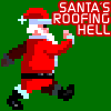 Santa s Roofing Hell juego