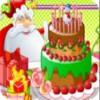 Santa Clauss delicioso pastel juego