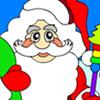 Santa Claus para colorear juego