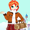 Sindy winter clothes dress up juego