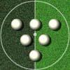 Billar-fútbol juego