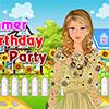 Fiesta de cumpleaños de verano juego