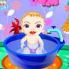 Dulce bebé baño juego