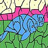 Tired seals coloring juego