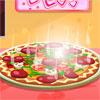 Pizza de tomate juego