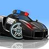 V8 Aparcamiento de policía juego