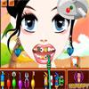Belleza de la aldea en el dentista juego