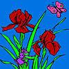 Comadreja del jardín para colorear juego