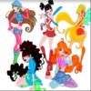 Winx Club para colorear juego
